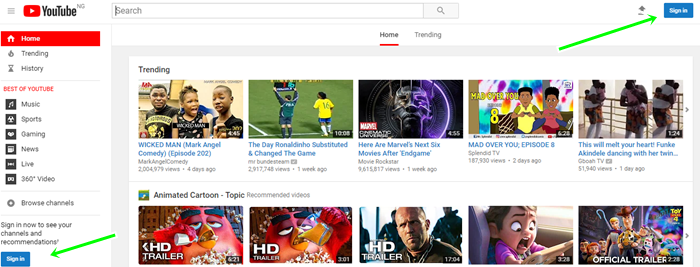 Steps To Sign Up For YouTube Account Fast - Youtube Account Open