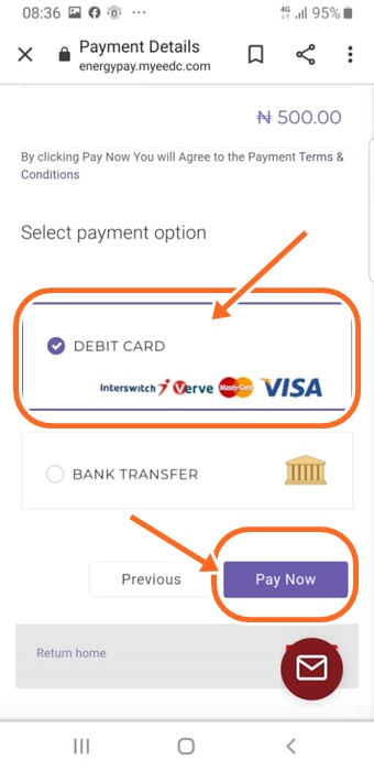 pay for electricity bill online