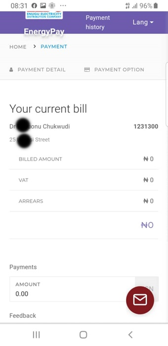 how to pay prepaid nepa bill online