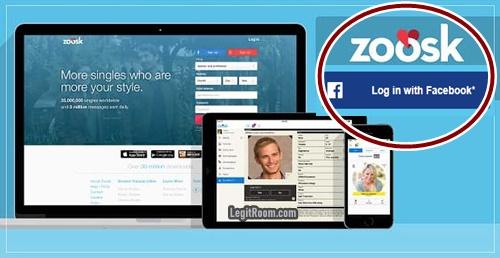 Through facebook login zoosk How to