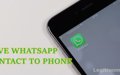 How To Save Contact On WhatsApp | Add Contact To Whatsapp