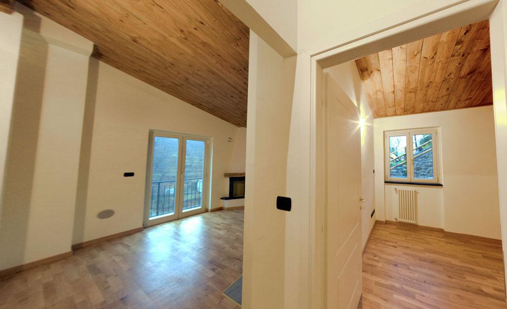 Realizzazione sotto tetto stile marinaro  vendita legno Genova  Legnami Cordano