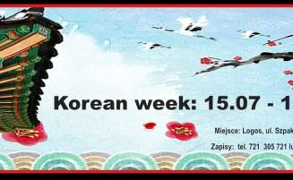 Korean week: 15.07 – 19.07