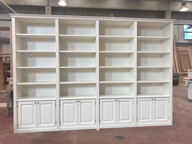Libreria in Legno Massello Fuoritutto Outlet Legno