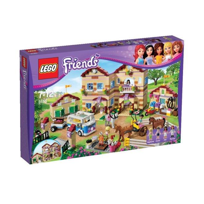LEGO Friends Reiterhof (3185 Großer Reiterhof)