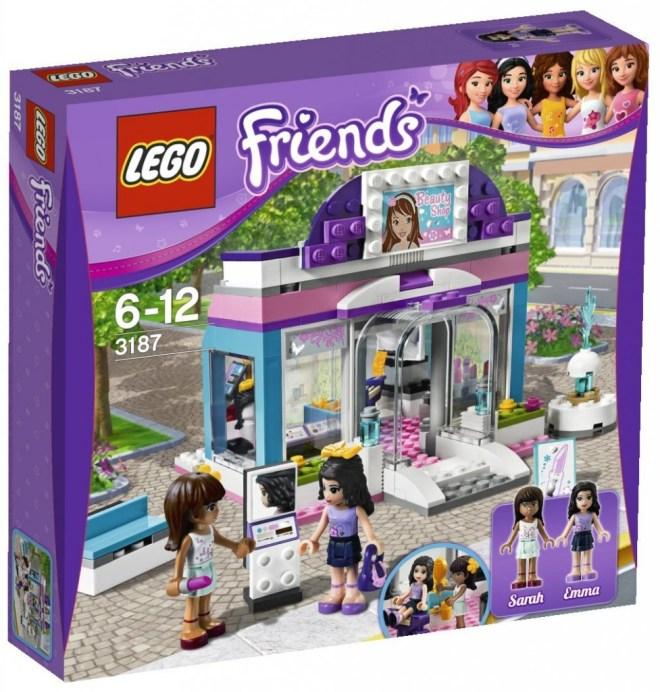 Lego Friends 3187 Schönheitssalon (aus LEGO Friends 3000er)