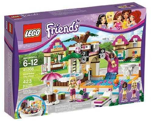 Lego Friends 41008 Grosses Schwimmbad