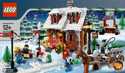 Lego 10216 Weihnachtsbäckerei (set zu Weihnachten)