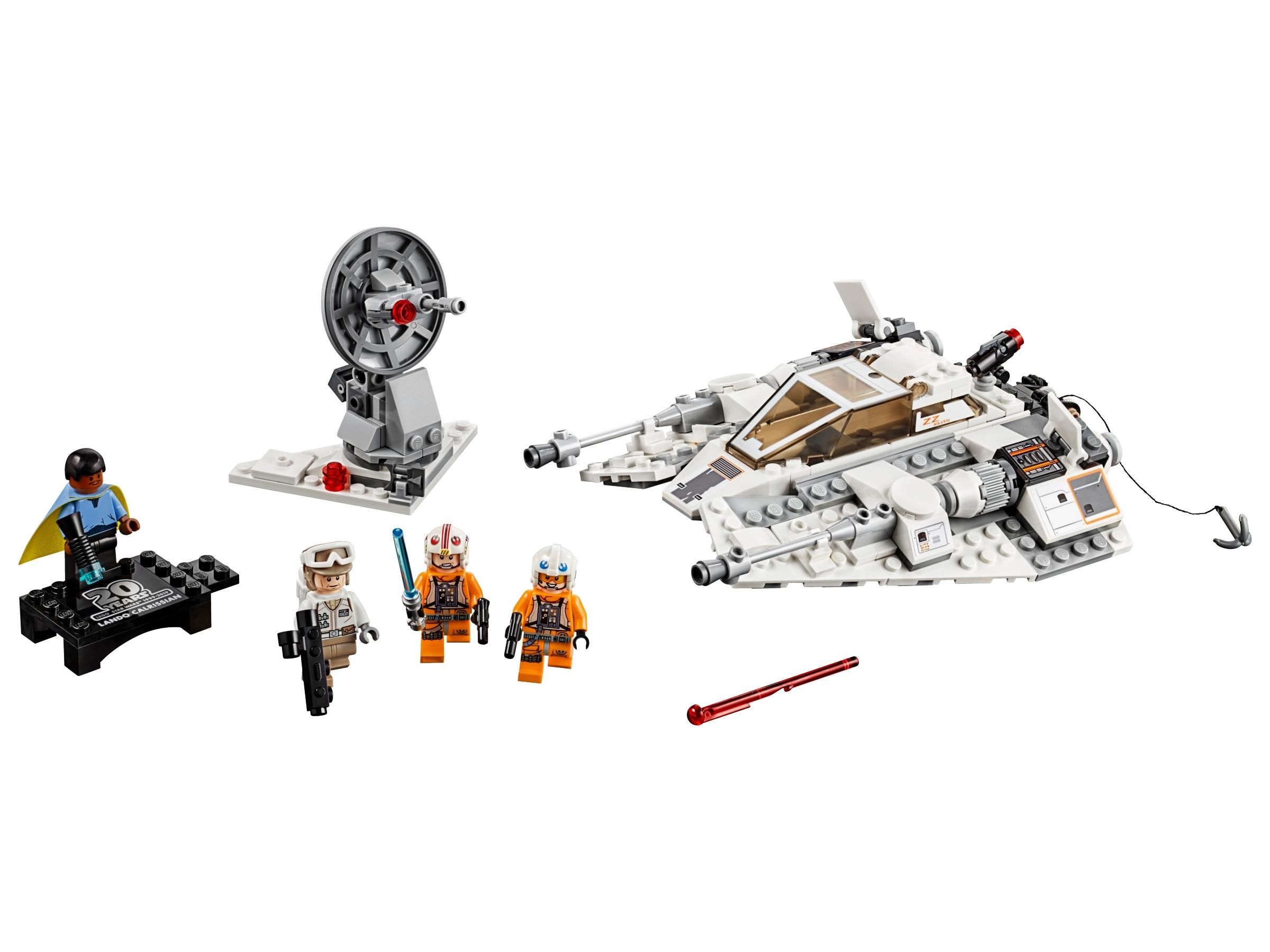 75258-2019 LEGO STAR WARS LUKE SKYWALKER 20TH ANNIVERSARY