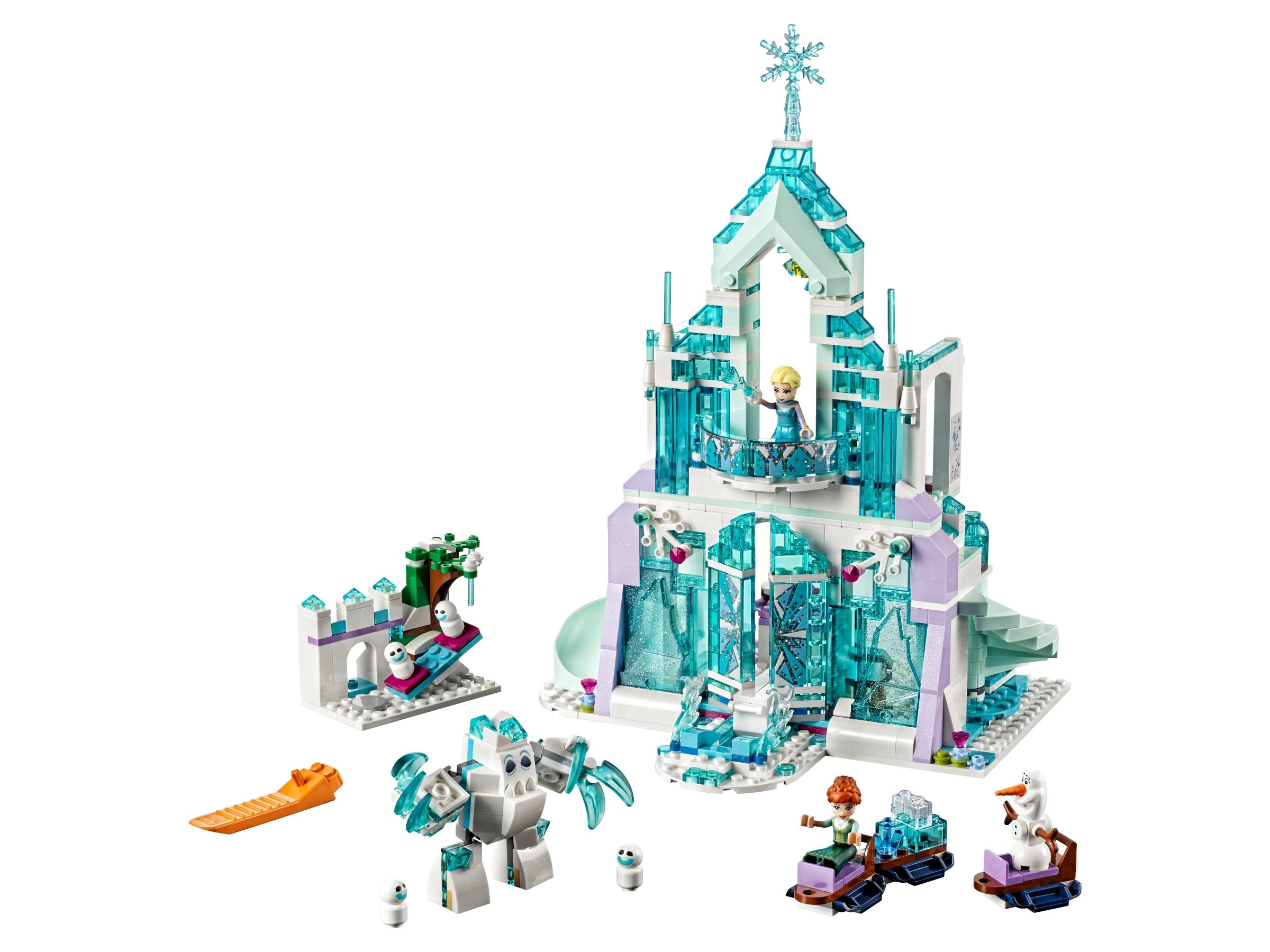 le palais des glaces magique d elsa 43172 lego frozen 2 boutique lego officielle fr