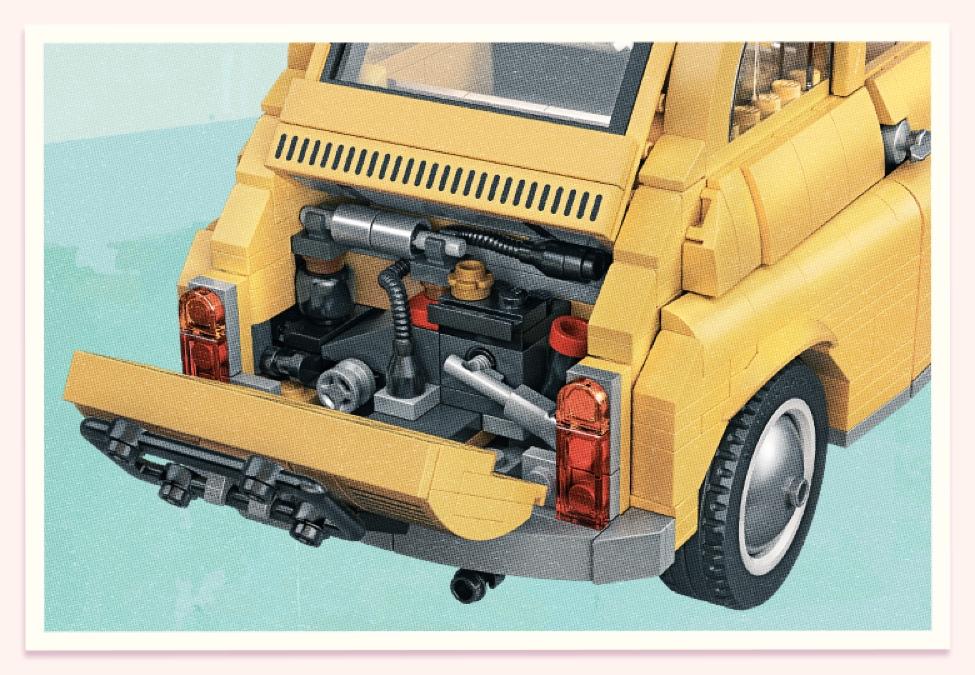 10271 Fiat 202003 Details 1 Block Standard Lego Fiat 500