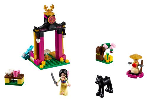 l entrainement de mulan 41151 lego disney instructions de montage service client lego com fr