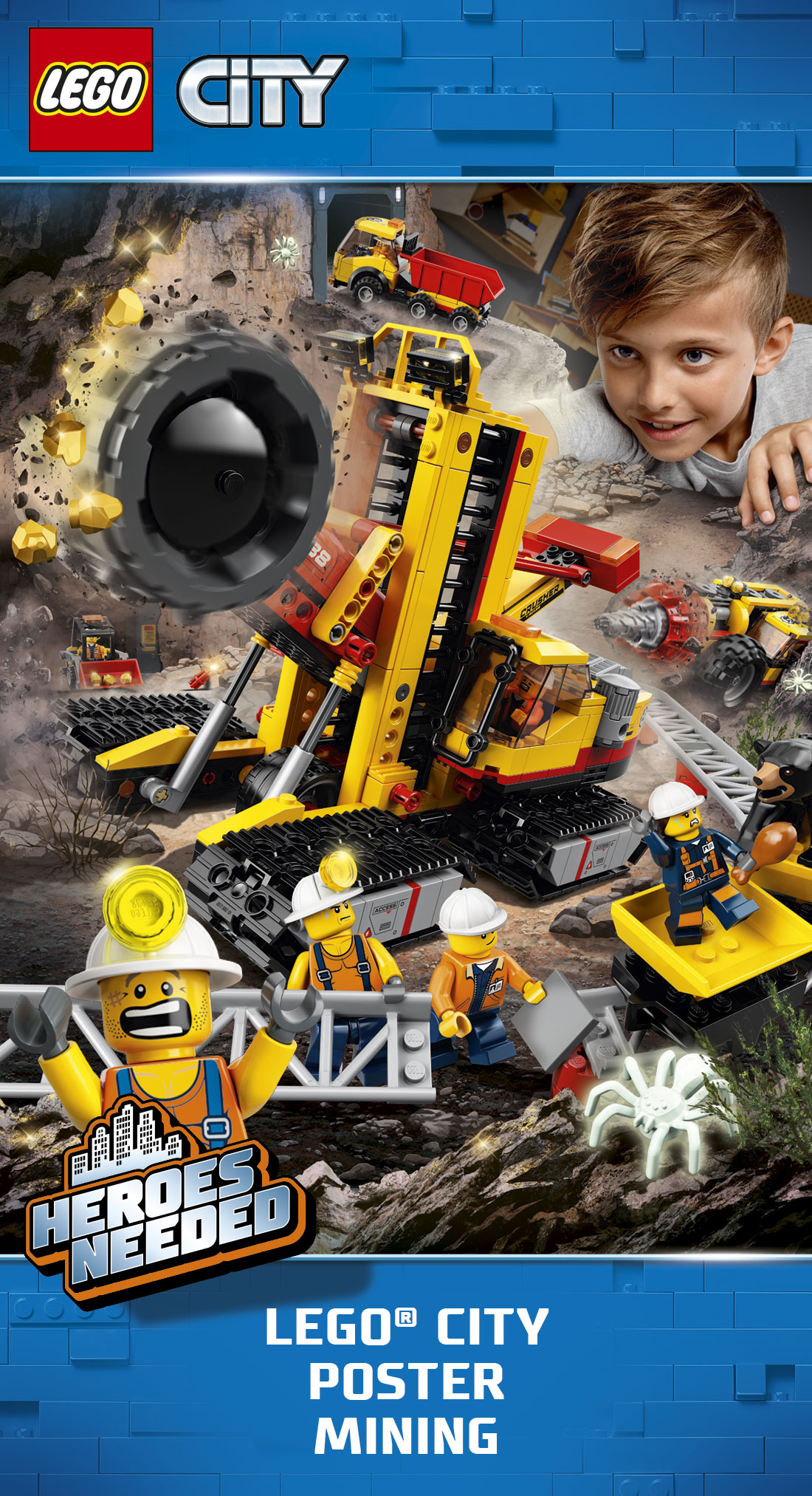 Lego City Mining Experts Campaign