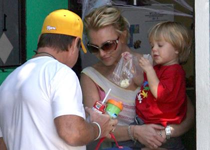journée presque normale pour Britney Spears