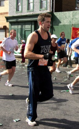 Ryan Reynolds marathon New-York