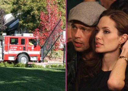 Angelina Jolie - Alerte Incendie