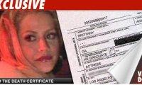 Brittany Murphy –Certificat-Décès