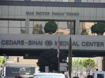 Johnny Hallyday Cedars Sinai Medical center