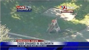 Tiger Woods – Accident – Photos