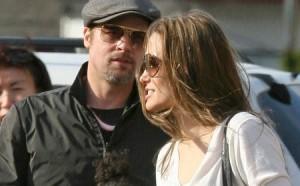 Angelina Jolie – Barbe-Brad Pitt