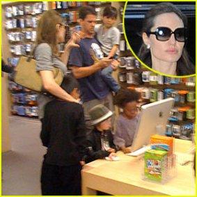 Angelina Jolie –Famille-Apple – Photos