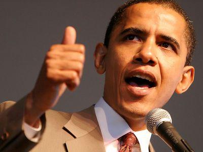 Barack Obama -Tiger Woods