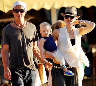 Gwen Stefani -Gavin Rossdale-Gustavia -Photo