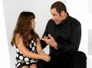 John Travolta - Ella Bleu Travolta – vidéo