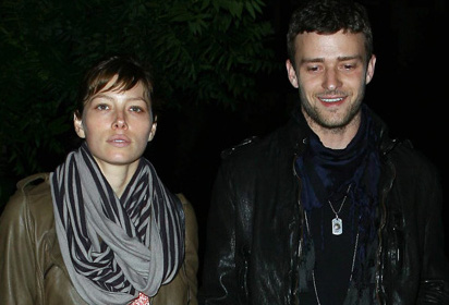 Justin Timberlake –Largue-Jessica Biel