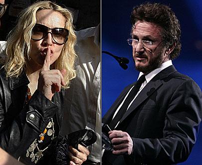 Madonna-Retour-Sean Penn
