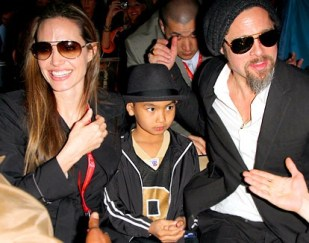 Angelina Jolie folle Brad Pitt