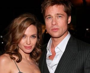 Brad Pitt Angelina Jolie unis
