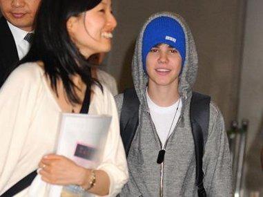 Justin Bieber au Japon Photos
