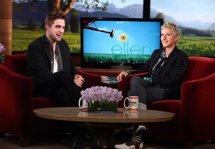 Robert Pattinson Ellen Degeneres
