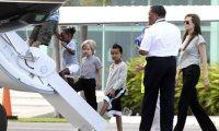 Angelina Jolie-enfants- Cancun