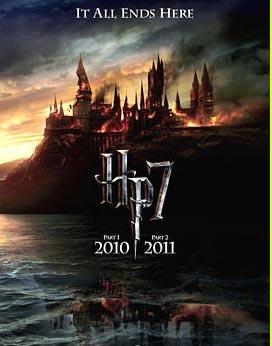 Harry Potter reliques mort Nouvelles affiches