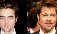 Robert Pattinson Brad Pitt
