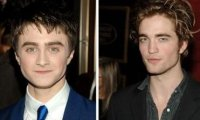 Robert Pattinson Daniel Radcliffe Tussauds.