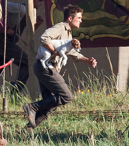 Robert Pattinson photos Water For Elephants