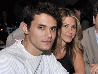 Jennifer Aniston John Mayer en contact