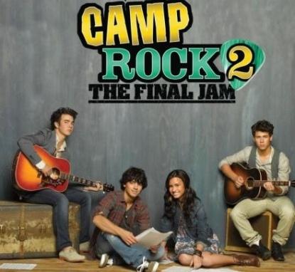 Jonas Brothers Demi Lovato Rock Camp 2