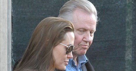 Angelina Jolie Jon Voight enfants