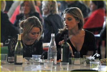 Miley Cyrus Ashley Greene Palais de Tokyo Photos