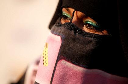 M.I.A burka Spike TV Scream Awards Photos