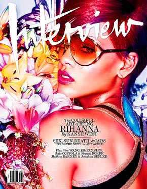 Rihanna Interview Photo