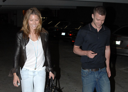 Justin Timberlake et Jessica Biel Martha's Vineyard
