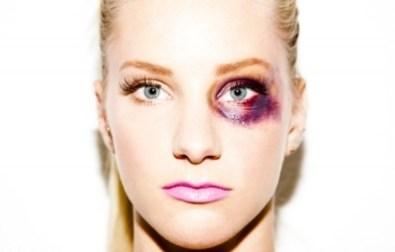 Heather Morris de Glee- Glorifie violences conjugales