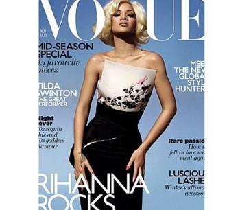Rihanna en Marilyn Monroe Vogue
