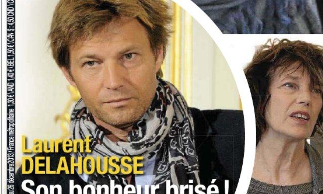 """Laurent Delahousse """"une vie brisée"""" à cause d'Alice Taglioni dans France Dimanche"""