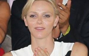 Charlene de Monaco Bryan Habana Nice